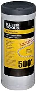 Pull Line for Light Duty Cable or Rope Pulling, 210 lb Average Breaking Strength 500-Foot Klein Tools 56108