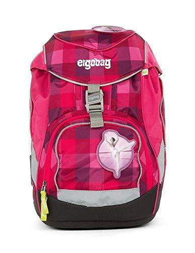Ergobag Pack RhabarBär - Pinkm, ergonomischer Schulrucksack, Set 6-teilig, 20 Liter, 1.100 g, Pink