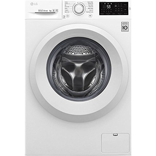 LG F2J5TN3W Independiente Carga frontal 8kg 1200RPM A+++ Blanco - Lavadora (Independiente, Carga frontal, Blanco, Izquierda, LED, Acero inoxidable)