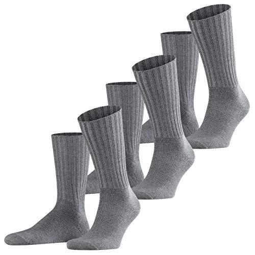 FALKE Casual Herren Socken Nelson 3er Pack, Größe:43-46;Farbe:Dark Grey (3070)