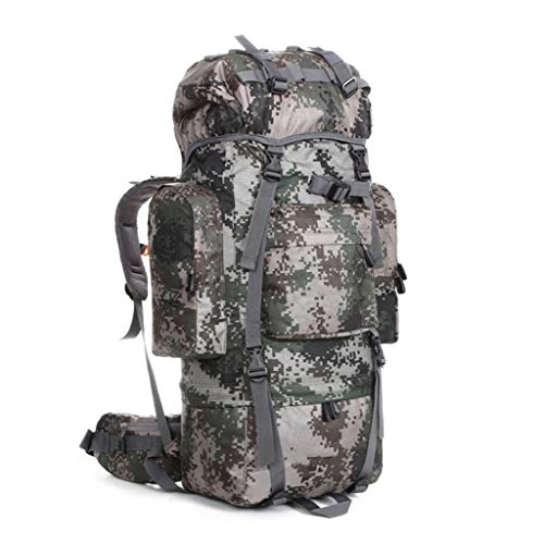 MMWYC Military Backpack Waterproof Student School Backpack Running Large Capacity Tactical Travel Camping Trip Bag (Color : Camouflage)