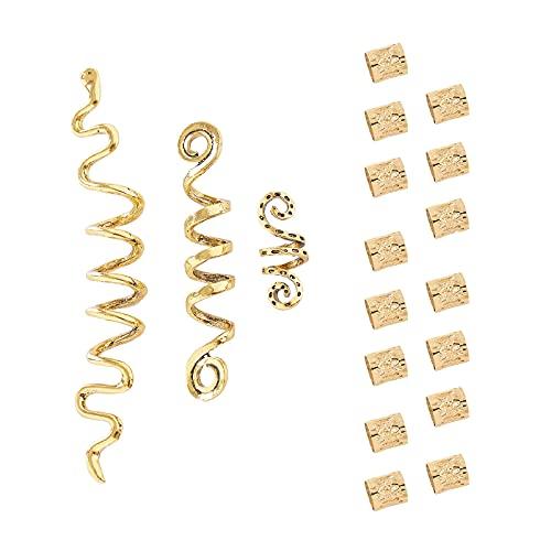 FRDTLUTHW 18Pcs Hair Accessories Loc Hair Jewelry for Women Braids,...