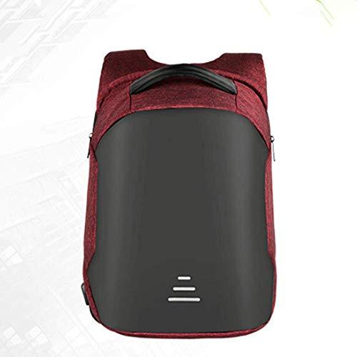 FANQIECHAODAN Sac à dos pour ordinateur portable professionnel 16 pouces, sac de voyage étudiant durable sac à dos de voyage anti-vol avec port de charge USB, sac pour ordinateur collégial résistant à