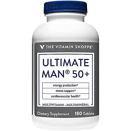 Ultimate Man 50+ Multivitamin (180 Tablets) by The Vitamin Shoppe