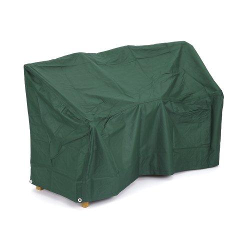 Housse de protection waterproof ultra-résistante pour incurvé canapé d'extérieur 2 places