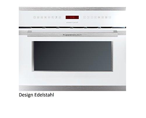 Küppersbusch Einbau-Dampfgarer EDG6550.0, 45 x 56 cm, Design:weiß + Edelstahl