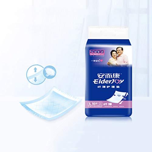 Diapers Coussin jetable pour Incontinence urinaire Coussin de maternité puerpérale Coussin pour Couche-Culotte pour Adultes L Code Urine Coussin étanche Non Humide, Coussin Multi-Usage, 60 * 90 cm