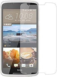 وشاشة حماية من الزجاج المقوى لموبايل اتش تي سي ديزاير 828 - شفافة