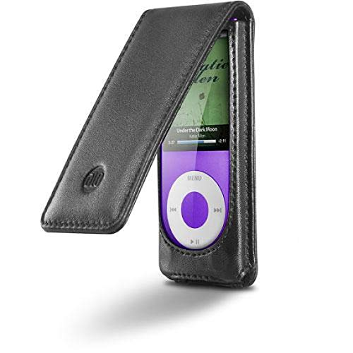 Digital Lifestyle Outfitters HipCase Leather Folio for iPod Nano 4G (Bulk Pack)