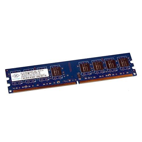 1GB RAM Nanya nt1gt64u8hb0by-25d 240-Pin DIMM DDR2PC2–6400U 800MHz 2Rx8CL6