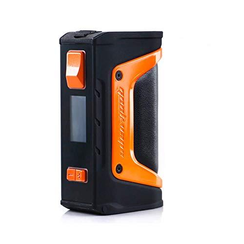 GeekVape Aegis Legende 200W TC Box MOD Neue AS Chipsatz Power von Dual 18650 Batterien e CIGS keine Batterie - kein Nikotin, keine E-Flüssigkeit (Schwarz orange)