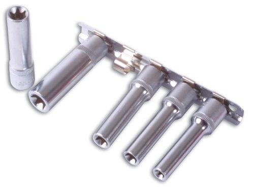 Laser Jeu de Douilles Longues Torx - 5 PCE