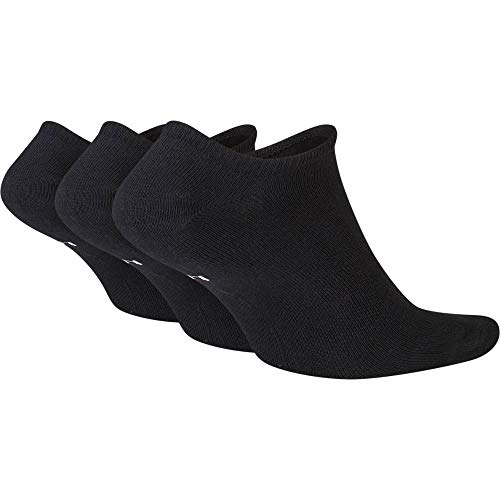 Nike No-show Socken Sportswear Essential, Black/White, M, SK0111-010
