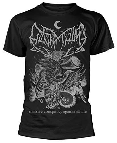 Leviathan 'Conspiracy Seraph' (Negro) Camiseta