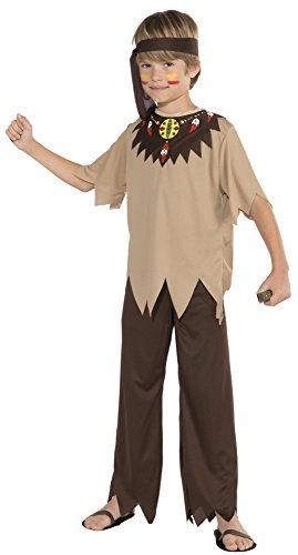 Forum Novelties Native American Brave Costume, Child Small