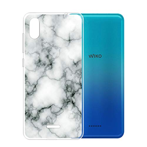 KJYF Schutzhülle Schale Marmor für Wiko Y60 (5.45