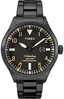Timex Mens Quartz Watch, Analog Display and Stainless Steel Strap - TW2R25200