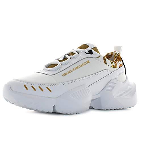 Versace Jeans Couture Hombre Uranus Zapatillas Bianco