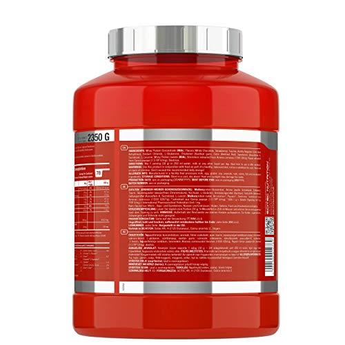 Scitec Nutrition Whey Protein Professional Erdbeer-Weiße Schokolade, 1er Pack (1 x 2350 g) - 3