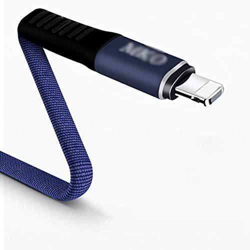 LLRZ Conectores Cable de Rayos USB Cable de Carga Cable de sincronización de Carga rápida para teléfono 12/12 Pro/MAX / 11 / 11PRO / XS/MAX/XR/X / 8 / 8PLUS Accesorios