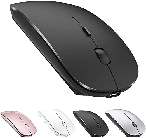 Bluetooth Mouse,Rechargeable Wireless Mouse for MacBook Pro/MacBook Air,Bluetooth Wireless Mouse for Laptop/PC/Mac/Computer