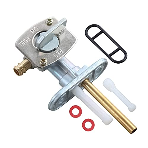 Gas Fuel Tank Petcock Switch Valve Compatible with Yamaha Pw80 for TTR TT-R 90 125 225 230 250 2000-2011 for Pit Dirt Bike