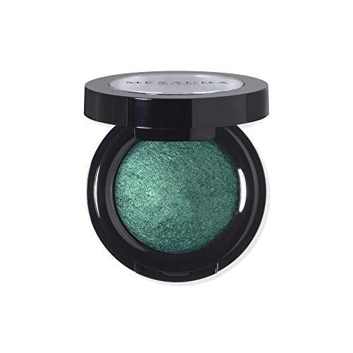 MESAUDA Milano Luxury Eyeshadow Lidschatten gebacken 301Green Emerald Paraben Free
