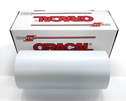 Oracal 651 Vinyl Roll 12' x 50 Yard (150 feet) (Matte White)