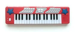 Chad Valley Electronic Keyboard - Red.