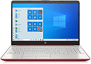 Newest 2020 HP Pavilion 15.6 Intel Pentium Silver N5000 4GB 128GB SSD Windows 10 Laptop Red (Renewed)