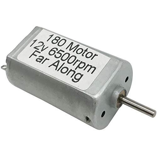 Yener Mini High Speed DC Motor 12V 6500RPM Omgekeerd voor Elektrisch DIY-speelgoed Bloeddrukmeter of scheerapparaatmotoren, 12V 6500rpm, 1 PC