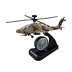 Triple Store Snake Driver in The Sky Apache Helicopter Alarm Clock