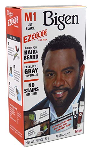 Bigen EZ Color Hair Color for Men - Jet Black Kit