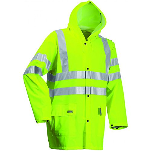 Lyngsoe Jacke PU/PVC, Größe XXL, saturn gelb, 1 Stück, LR9055-53-XXL
