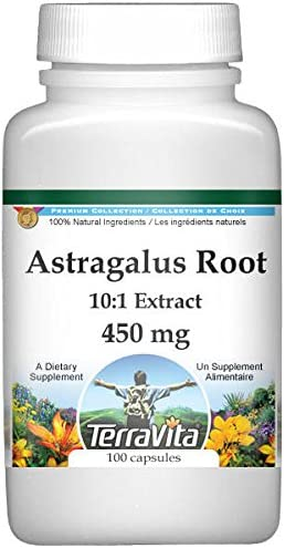 Nippon regular agency Extra Strength Astragalus Root 10:1 Extract 100 450 mg - 1 year warranty Capsul