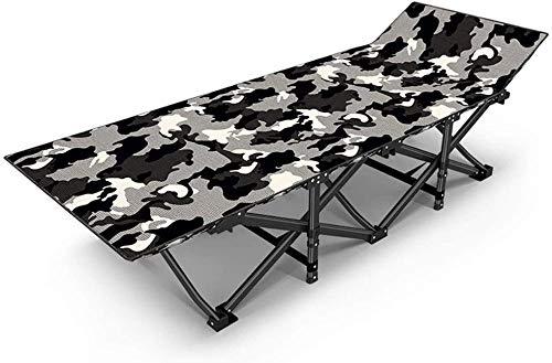 Cama plegable sofá cama reclinable silla anciana adultos Cunas playa cama dormir cuna cuna cuna para viajar senderismo hogar descanso (color : B)-A