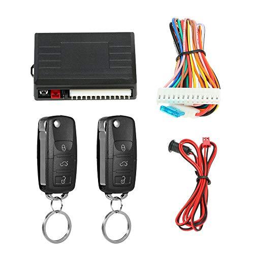 Bloqueo de puerta de auto universal Sistema de entrada sin llave Sistema de cierre centralizado con control remoto con control remoto
