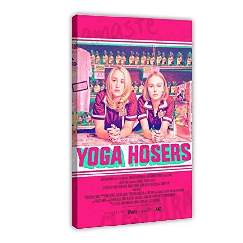 Famosa actriz francesa y modelo Lily-Rose Melody Depp Yoga Hosers cubierta de la película Póster de la pared del arte de la decoración de la sala de estar dormitorio decoración de 60 x 90 cm marco1