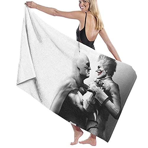 IUBBKI Ba-Tman Jo-Ker Toalla de baño súper Suave Natación SPA Toalla Ducha Camping Yoga Toalla de Playa de Arena Tamaño Personalizado 31x51 Pulgadas