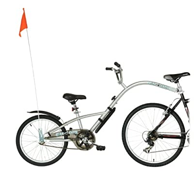Bike-A-Long Trailer (Silver)