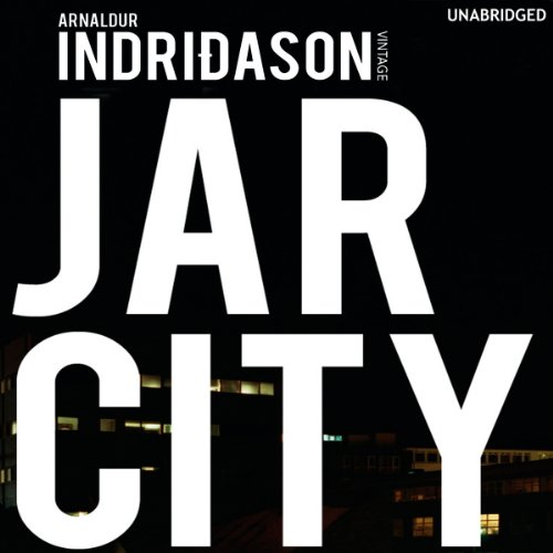 Jar City audiobook cover art