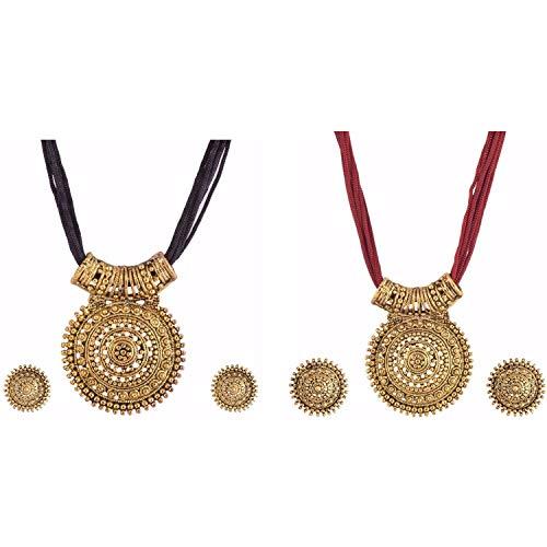 Efulgenz Indian Ethnic Bollywood Designer Necklace and Earrings Jewelry Set...