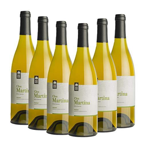 Vino Blanco Clos Martina 2015 - DOQ Priorat - Pack vino 6 botellas - Crianza 6 meses - Selección Vins&Co - 750 ml