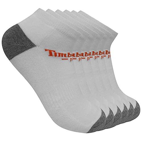 Timberland PRO Herren 6-Pack Performance Low Cut Socks Freizeitsocken, Weiß, Medium