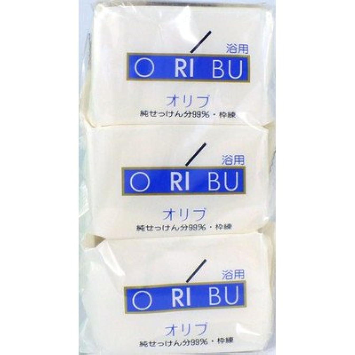 ダンプコンピュータージェット暁石鹸 ORIBU オリブ 浴用石鹸 110g 3個入り