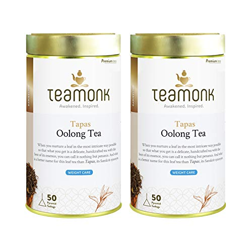 Teamonk Tapas Imperial Himalayan Oolong Tea Bags - 100 Tea Bags | 100% Natural Tea | No Additives