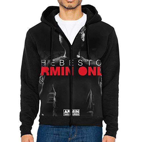 Armin Van Buuren - Sudadera con capucha y cordn para hombre