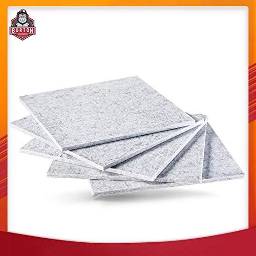 Superdense soundproofing panels - Best sound proof padding wall panels or soundproof door | Better Sound absorbing than acoustic panels, sound proof foam panels | 12 x 12 x 0.36 | 5 piece pack |