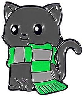 Alfileres de esmalte de la serie Fox de dibujos animados Mini broches de animales personalizados para niños Amigos Bolsa P...