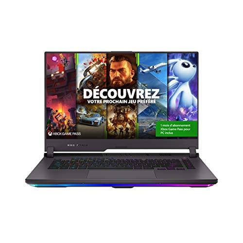 ASUS ROG G513QR-HF010T PC Portable Gaming 15-15.9 FHD (AMD Ryzen R7-5800H, RAM 16G DDR4, 1TB Gen 3.0 SSD, RTX 3070 - 8GB GDDR6, Windows...